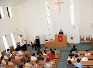 教会の様子